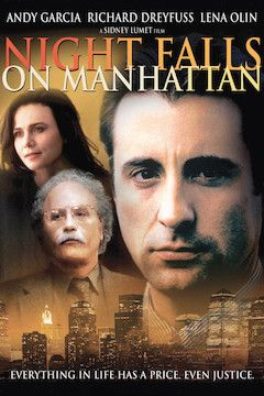 Night Falls on Manhattan movie poster.