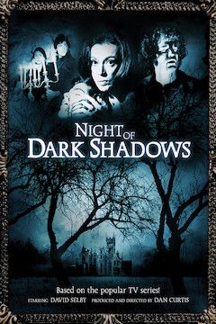 Night of Dark Shadows movie poster.