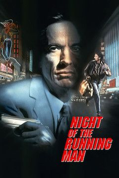 Night of the Running Man movie poster.