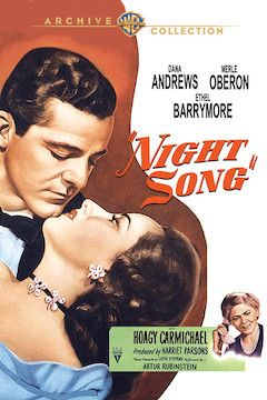 Night Song movie poster.