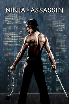 Ninja Assassin movie poster.