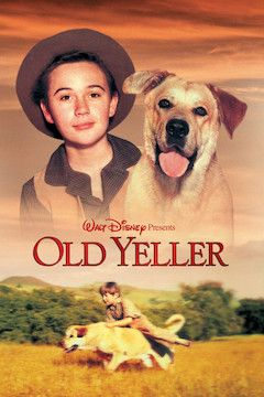 Old Yeller movie poster.