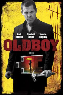 Oldboy movie poster.