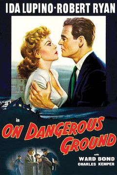 On Dangerous Ground movie poster.