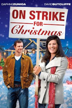 On Strike for Christmas movie poster.