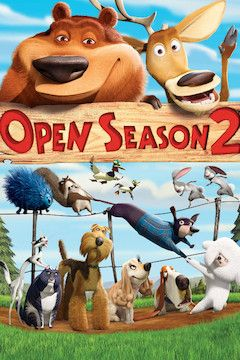 Open Season 2 movie poster.