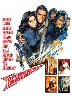 Operation Crossbow movie poster.