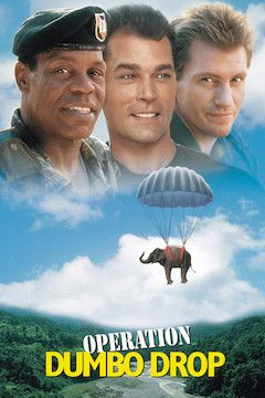 Operation Dumbo Drop movie poster.