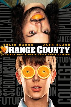 Orange County movie poster.