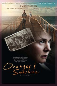 Oranges and Sunshine movie poster.