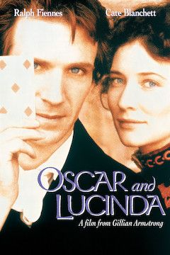 Oscar and Lucinda movie poster.