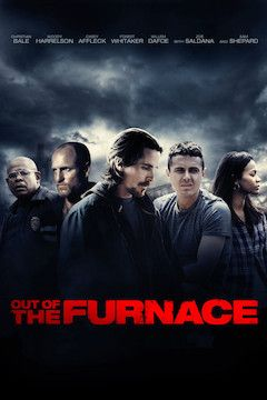 Out of the Furnace movie poster.