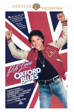 Oxford Blues movie poster.