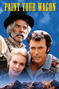 Paint Your Wagon movie poster.