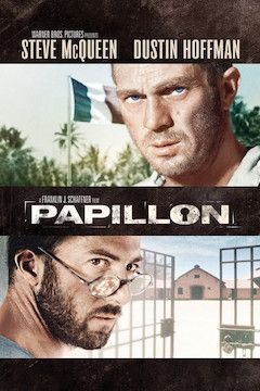 Papillon movie poster.