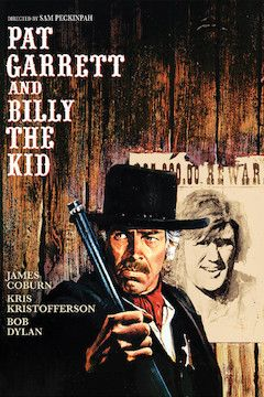 Pat Garrett and Billy the Kid movie poster.