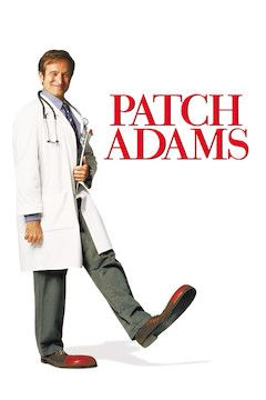 Patch Adams movie poster.