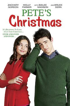 Pete's Christmas movie poster.