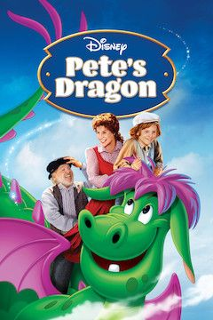 Pete's Dragon movie poster.
