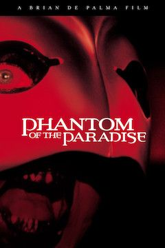 Phantom of the Paradise movie poster.