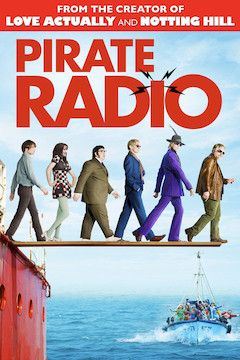 Pirate Radio movie poster.