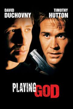 Playing God movie poster.