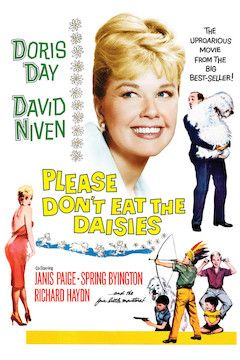 Please Don't Eat the Daisies movie poster.