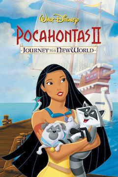 Pocahontas II: Journey to a New World movie poster.