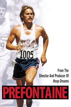 Prefontaine movie poster.