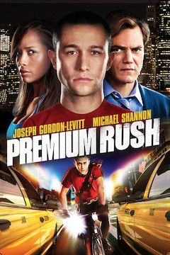 Premium Rush movie poster.
