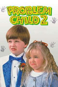 Problem Child 2 movie poster.