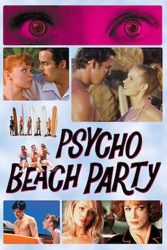 Psycho Beach Party movie poster.