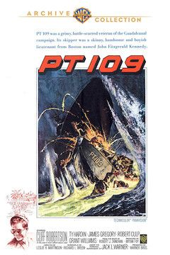Poster for the movie PT 109