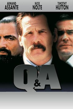 Q & A movie poster.