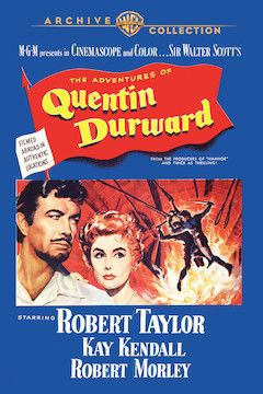 Quentin Durward movie poster.