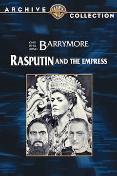 Rasputin and the Empress movie poster.