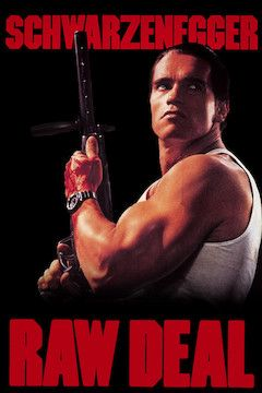 Raw Deal movie poster.