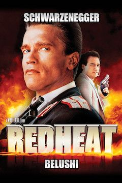 Red Heat movie poster.
