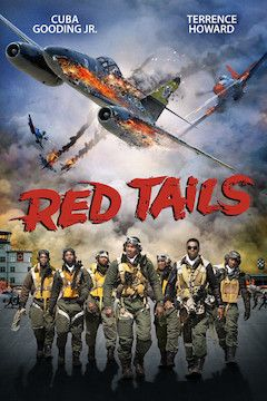 Poster for the movie L'escadron Red Tails