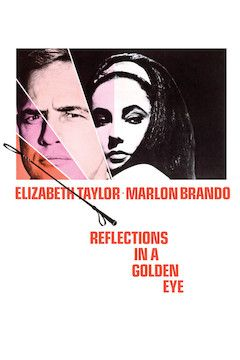 Reflections in a Golden Eye movie poster.
