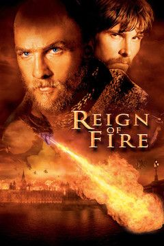 Reign of Fire movie poster.
