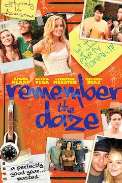 Remember the Daze movie poster.