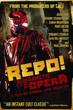 Repo! The Genetic Opera movie poster.
