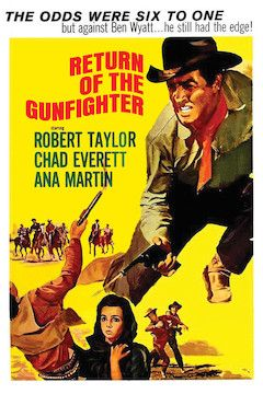 Return of the Gunfighter movie poster.