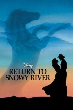 Return to Snowy River movie poster.