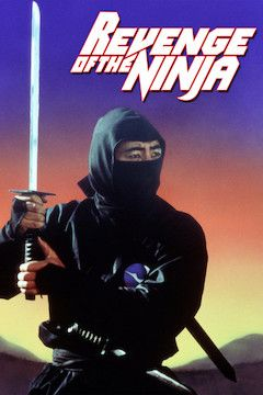Revenge of the Ninja movie poster.