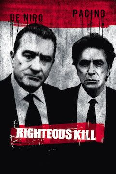 Righteous Kill movie poster.