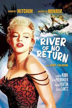 River of No Return movie poster.