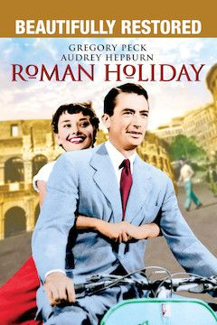 Roman Holiday movie poster.