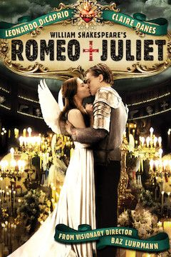 Romeo + Juliet movie poster.